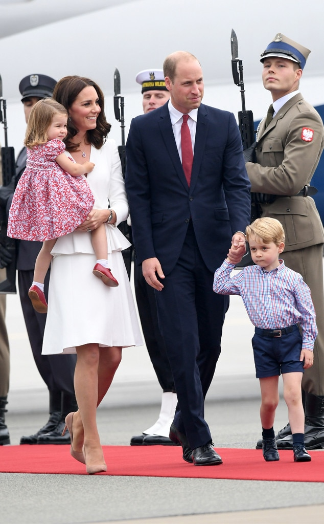Kate Middleton, Duchess of Cambridge, Prince William, Duke of Cambridge, Princess Charlotte, Prince George