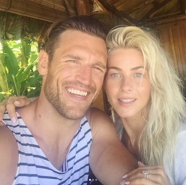 Julianne Hough, Brooks Laich, Honeymoon