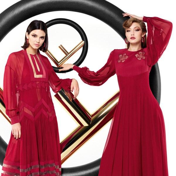 Kendall Jenner & Gigi Hadid's Fendi Ad Campaign