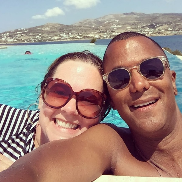 Melissa McCarthy reunites with Gilmore Girls co-star Yanic Truesdale on vacation