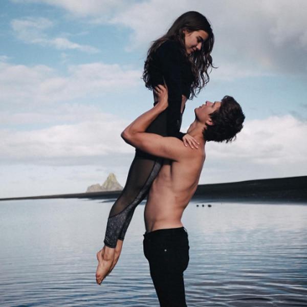Ansel Elgort & Violetta Komyshan's Romance in Pictures