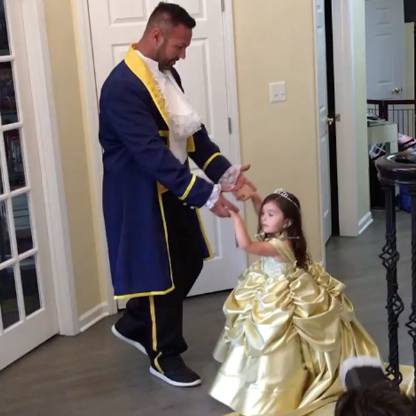 Jenni JWoww Farley Shares Precious Video of Her Daughter Dressed as Belle, Dancing With the Beast (AKA Roger Mathews)