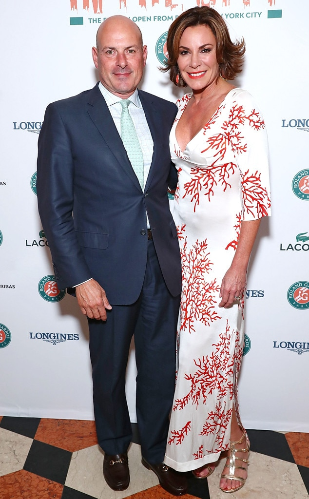Former husband and wife: Tom D'Agostino and Luann de Lesseps