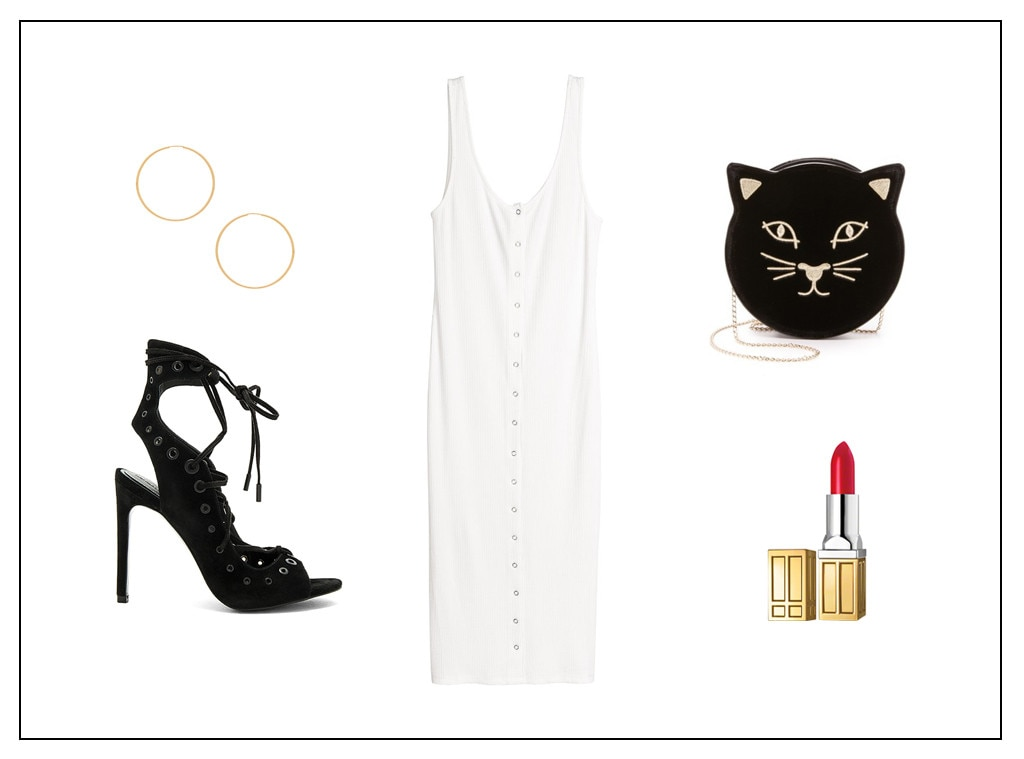 Branded: White Dress Outfits