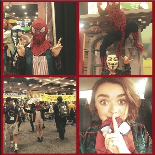 Maisie Williams, 2014 Comic-Con