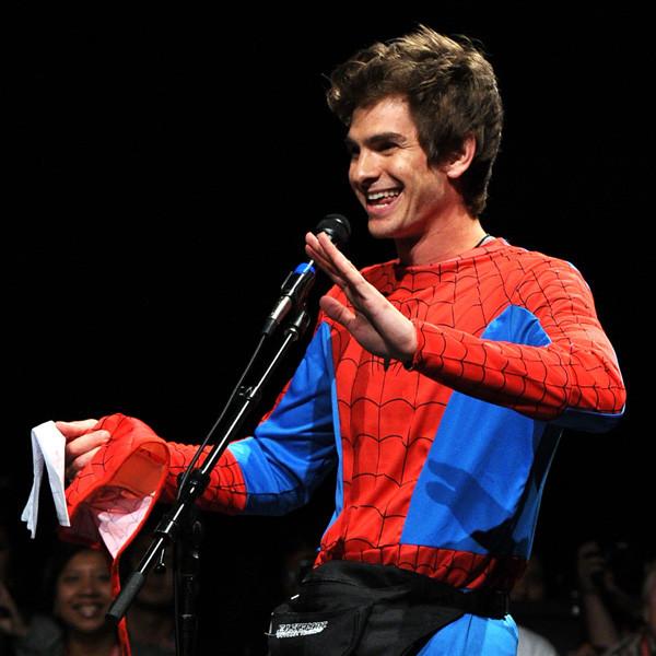 Andrew Garfield, 2011 Comic-Con