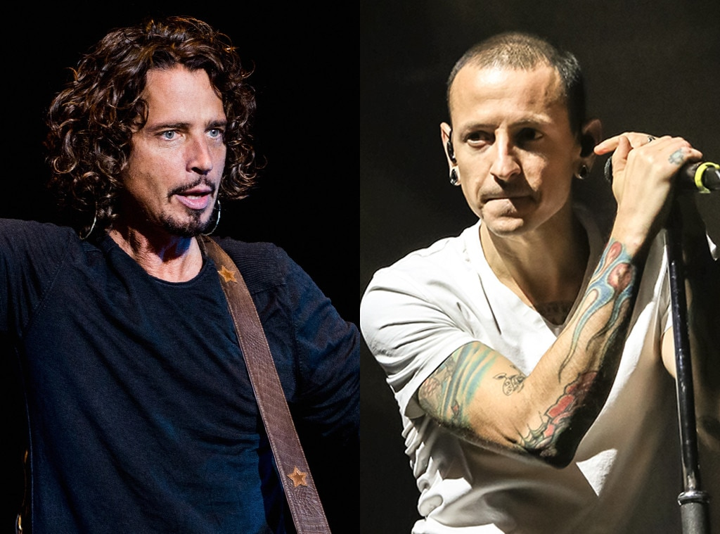 Image result for chris cornell chester bennington