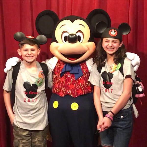 Janielle Gilmour, Elijah Gilmour, Mickey Mouse