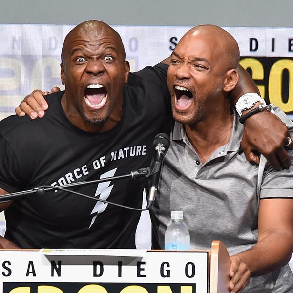 Terry Crews, Will Smith, 2017 Comic-Con