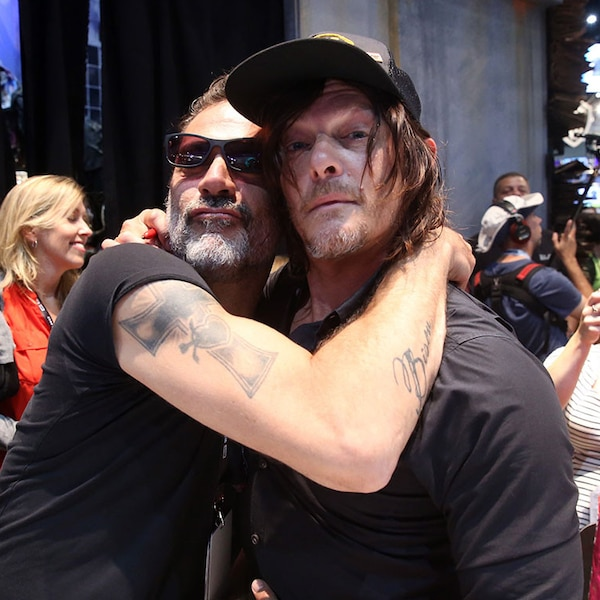 Norman Reedus & Jeffrey Dean Morgan From Comic-Con 2017