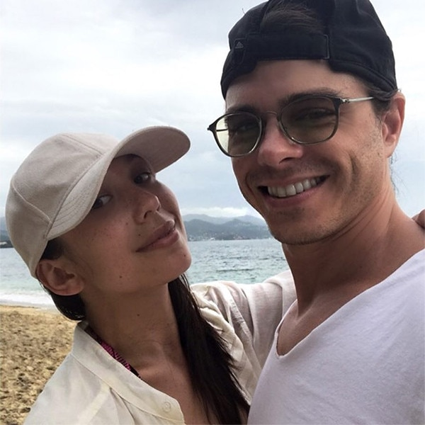 Cheryl Burke and Matthew Lawrence's Caribbean Vacation