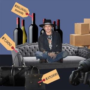 Johnny Depp, Cross-Complaint Document, Price Tags