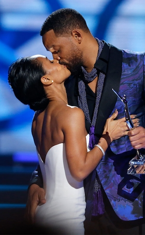 Jada Pinkett Smith, Will Smith, Kiss