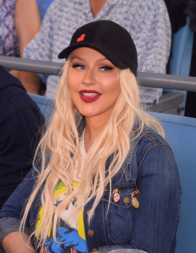 Christina Aguilera, Dodgers