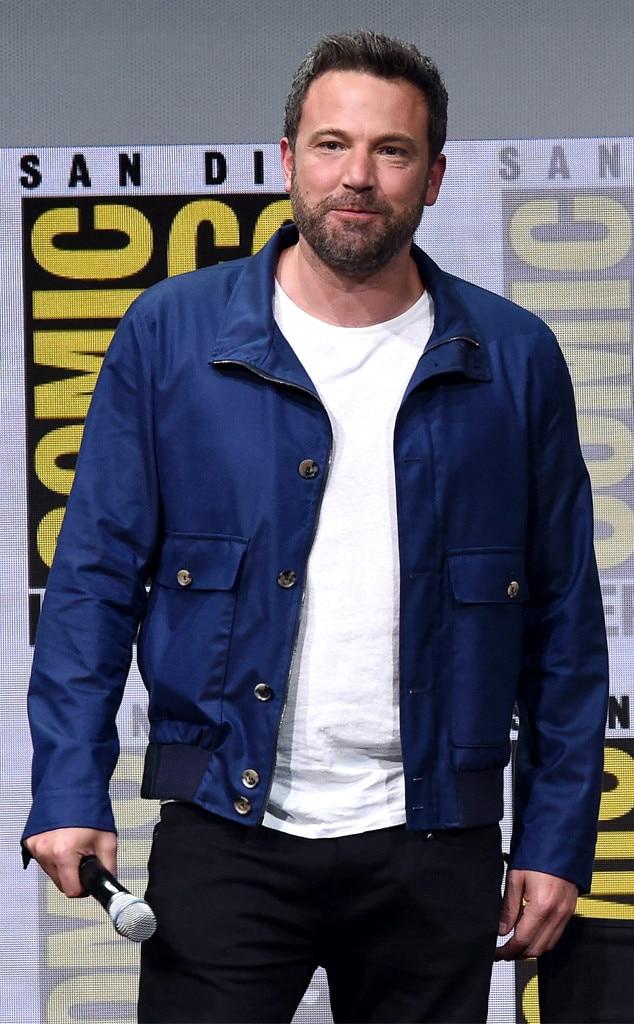 Ben Affleck, 2017 Comic-Con