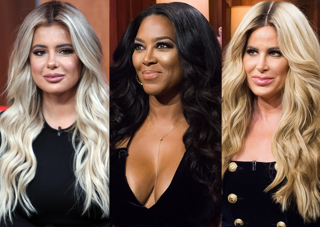 Kim Zolciak and Kenya Moore Nearly Come to Blows On 'RHOA' Set