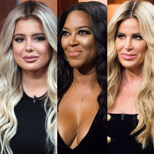 Brielle Biermann, Kim Zolciak-Biermann, Kenya Moore