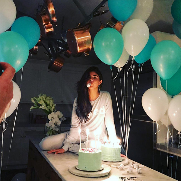 Selena Gomez, Birthday, Instagram