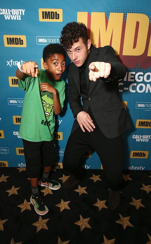 Nolan Gould, Miles Brown, IMDboat Pary, 2017 Comic-Con