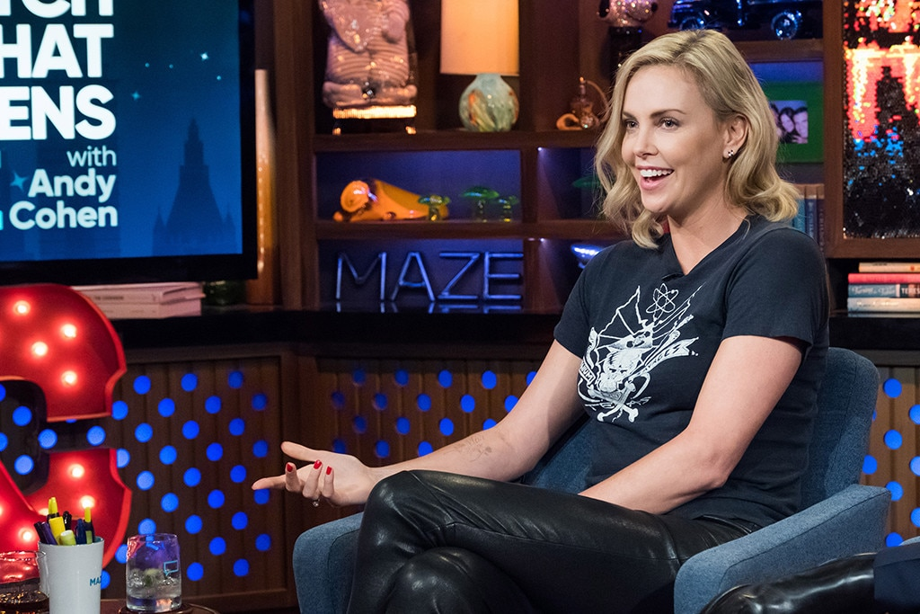 """Charlize Theron Jokingly Calls Tia Mowry A """"Bitch"""" Over Old SoulCycle Drama"""
