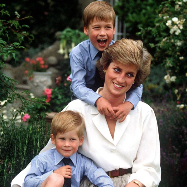 Princess Diana's Personal Photo Album