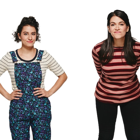 broad top girls Broad city is finally back for season three tonight, bringing with it one of tv's finest examples of female friendship don't get us wrong, we love a good catfight just as much as everyone else, but there's something about the relationship abbi jacobson and ilana glazer have created on the comedy.