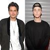 John Mayer, Justin Bieber