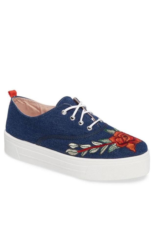 Branded: Platform Sneakers