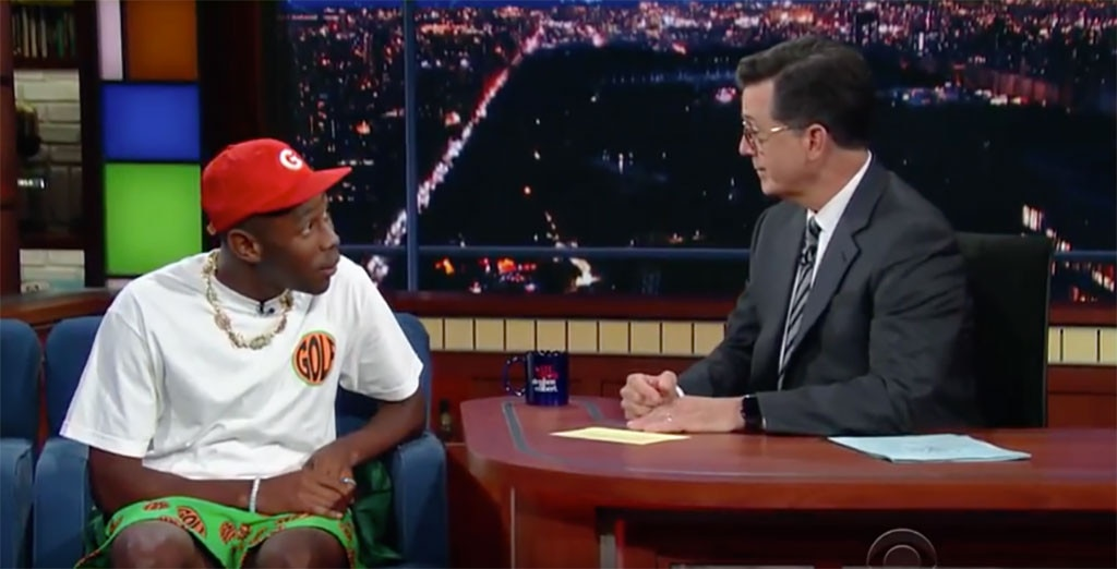 Tyler, The Creator Brings Feel-Good Funk To 'Colbert' Performance
