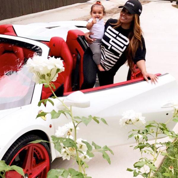 Blac Chyna, Ferrari