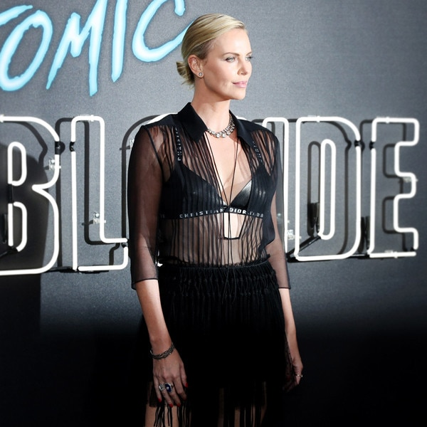 Thoughts on Charlize Theron's Latest Red Carpet Look?