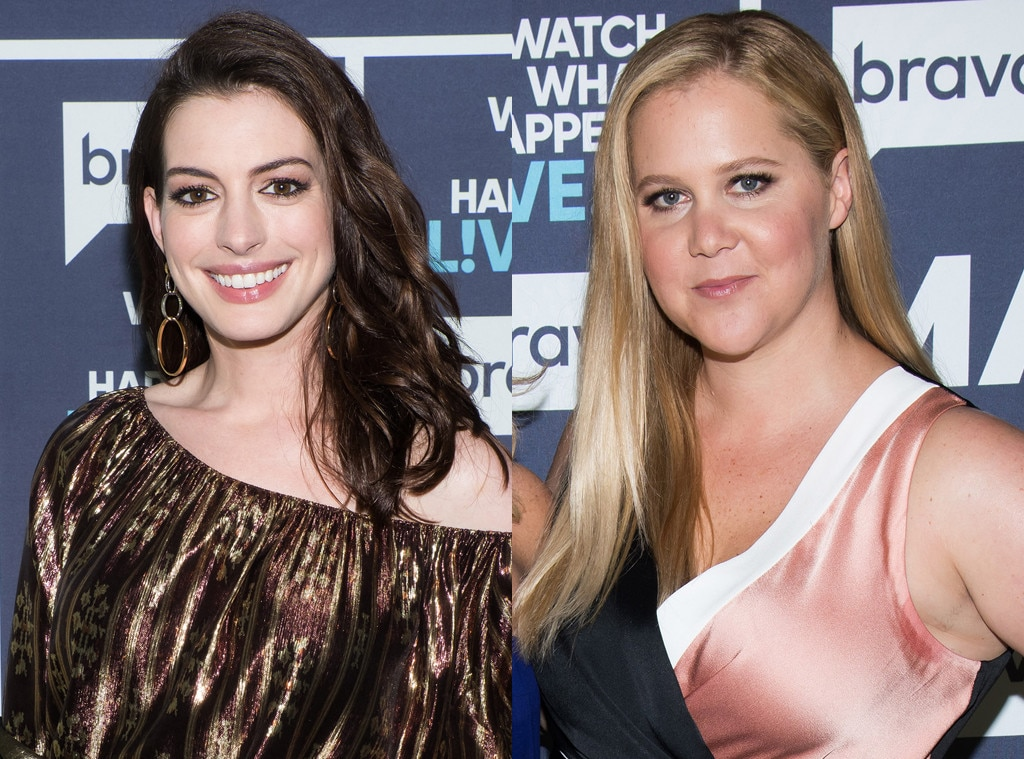 Anne Hathaway Is Thinking Of Replacing Amy Schumer In The Barbie Movie