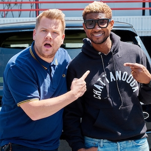 Usher, James Corden, The Late Late Show