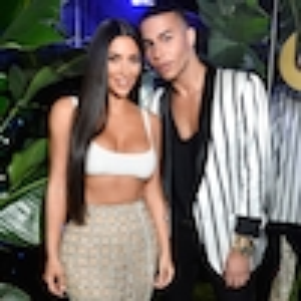 ESC: Balmian, Kim Kardashian, Olivier Rousteing