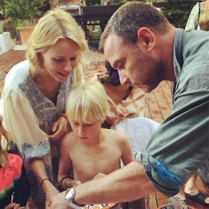 Naomi Watts, Liev Schreiber, Instagram
