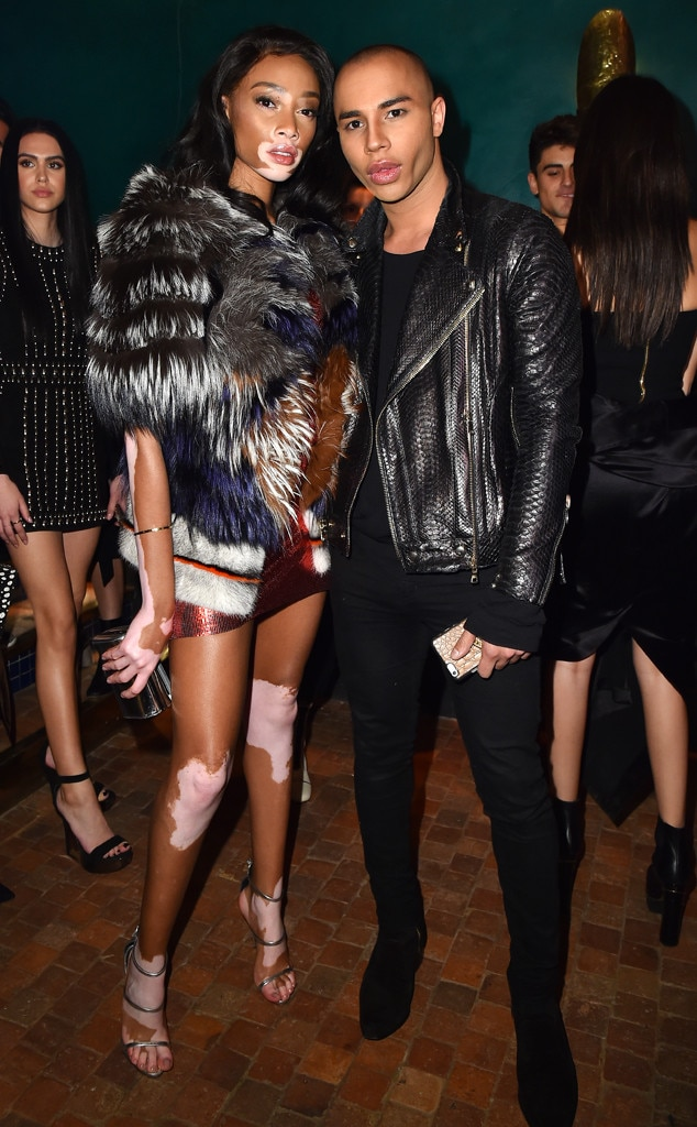 ESC: Winnie Harlow and Olivier Rousteing