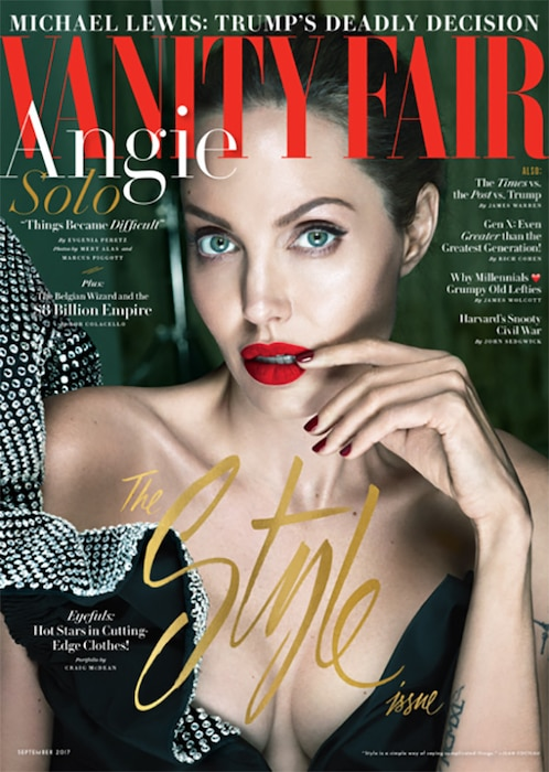 Angelina Jolie, Vanity Fair