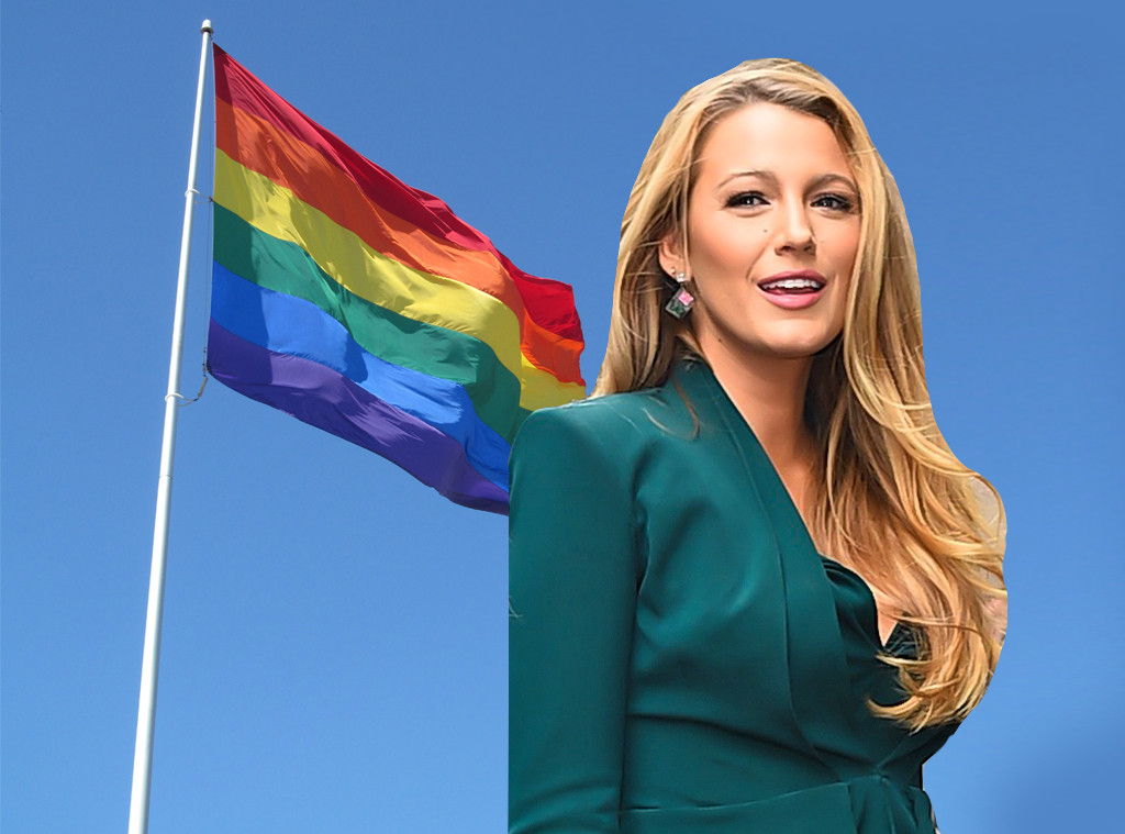 blake lively defends transgender troops against an instagram troll e news uk. Black Bedroom Furniture Sets. Home Design Ideas