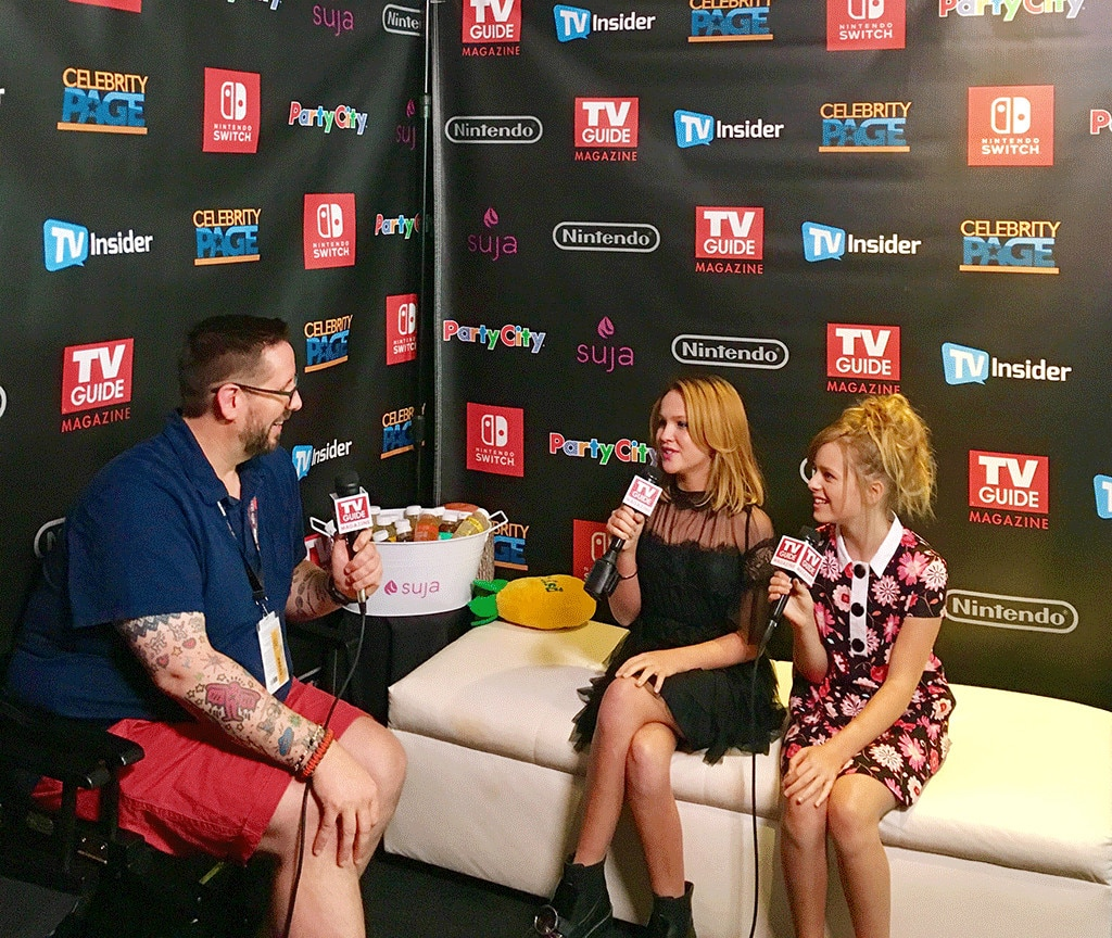 Comic Con, Annabelle, Lulu Wilson, Talitha Bateman
