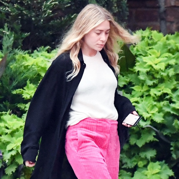 Bright Pink Pants
