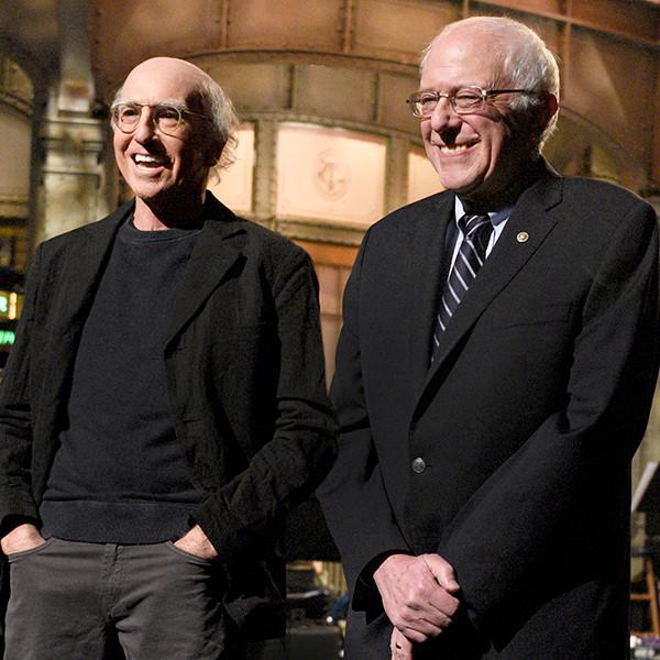 Larry David, Bernie Sanders