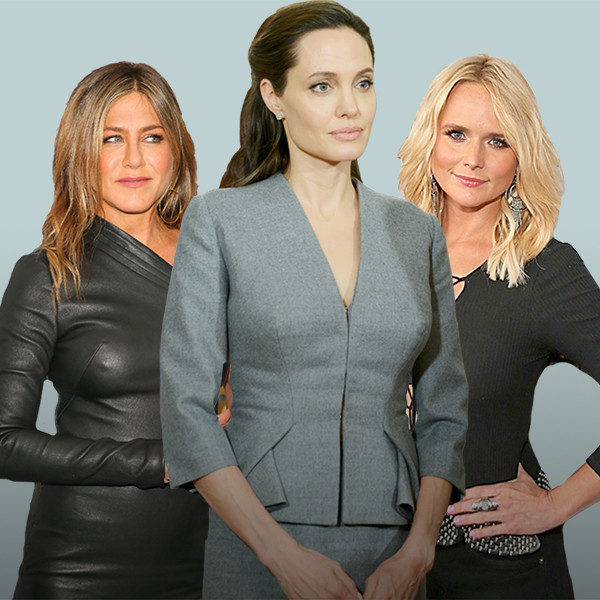 Breakup Interview Styles, Angelina Jolie, Jennifer Garner, Jennifer Aniston, Miranda Lambert, Taylor Swift
