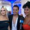 Tracee Ellis Ross, Evan Ross, Ashlee Simpson