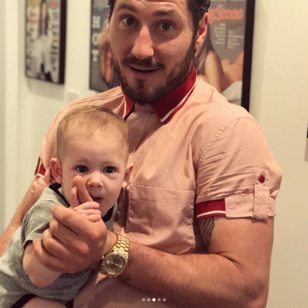 rs 600x600 170728182325 600 val chmerkovskiy mv 72817 - Maksim Chmerkovskiy and Peta Murgatroyd's Baby Boy Gets His First Dance Lessons From Uncle Val