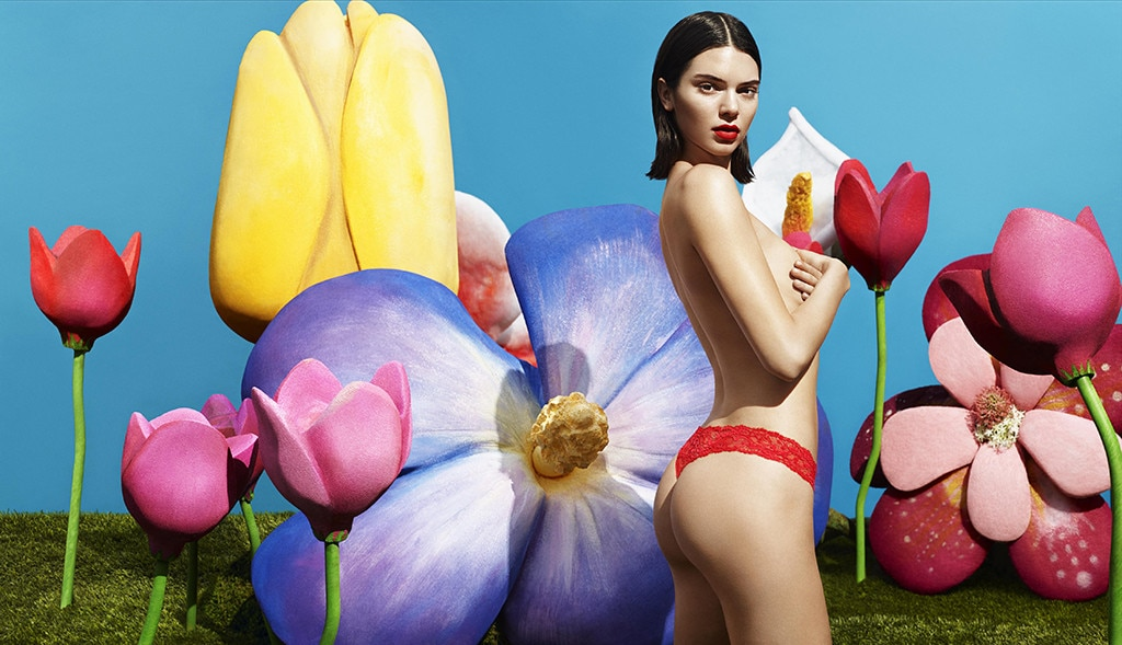 Kendall Jenner Skimps For Upcoming Campaign