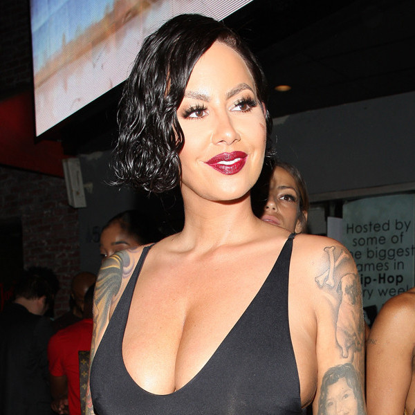 rs 600x600 170730132544 600 amber rose 072917 - Amber Rose Is Unrecognizable as She Parties in a Black Wig