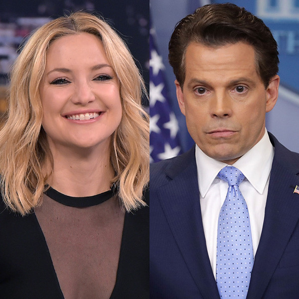 Kate Hudson, Anthony Scaramucci