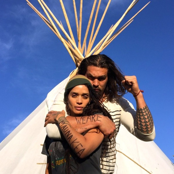 United We Stand From Jason Momoa And Lisa Bonet's Cutest