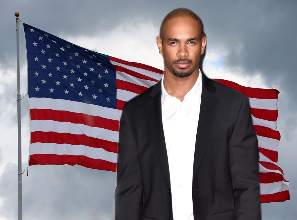 Damon Wayans Jr., American Flag