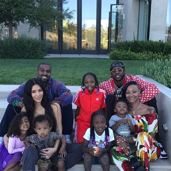 Kim Kardashian, Kanye West, North West, Saint West, 2 Chainz, Wife, Kids, Family, Pre-Fourth of July